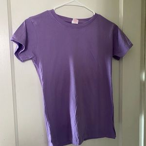 Basic purple tee